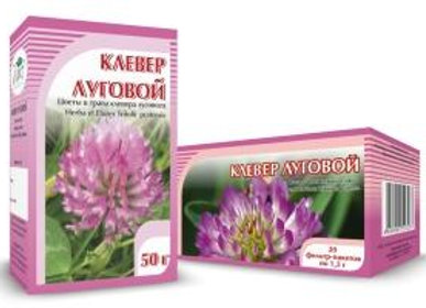 Herba et Flores Trifolii pratensis (КЛЕВЕР ЛУГОВОЙ)
