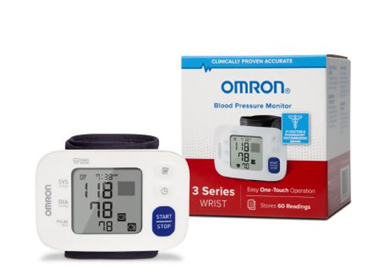 Digital Blood Pressure Wrist Unit Omron® 3 Series™ Automatic Inflation Wrist Adu