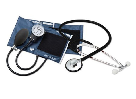Aneroid Sphygmomanometer Combo Kit For Nurses and Students Adult Size Nylon Cuff