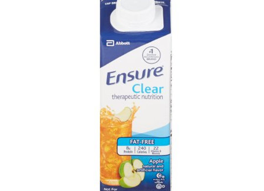 Oral Supplement Ensure® Apple Flavor Ready to Use 8 oz. Carton