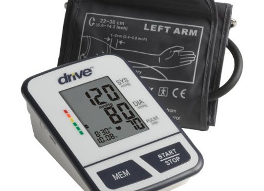 Digital Blood Pressure Monitoring Unit Drive™ 1-Tube Automatic Inflation Adult L