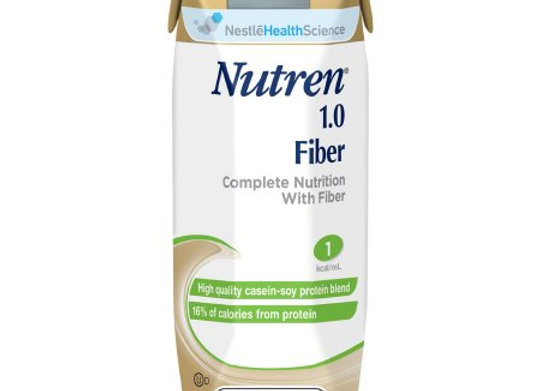 Tube Feeding Formula Nutren® 1.0 Fiber 8.45 oz. Carton Ready to Use Unflavored A