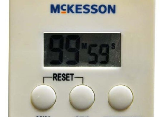 Electronic Alarm Timer Count Down McKesson 100 Minutes Digital Display