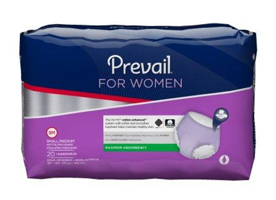Adult Absorbent Underwear Prevail® Daily Underwear Pull On Dispos