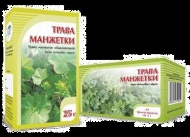 Herba Alchemillae vulgaris (МАНЖЕТКА, ТРАВА)