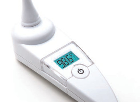 Tympanic Ear Thermometer Adtemp™ Ear Probe Handheld