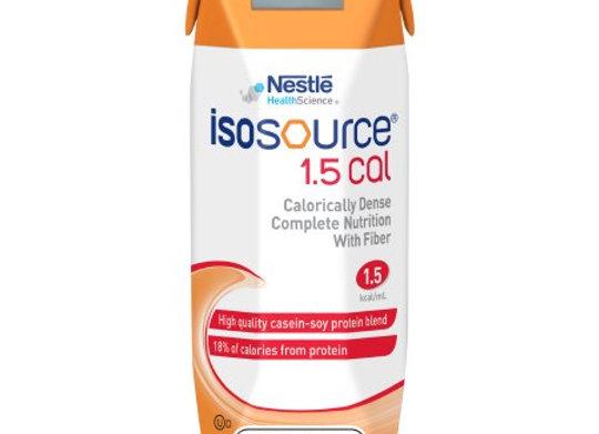 Tube Feeding Formula Isosource® 1.5 Cal 8.45 oz. Carton Ready to Use Unflavored