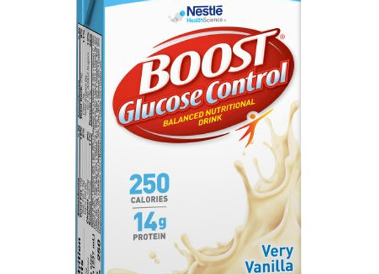 Oral Supplement Boost® Glucose Control® Vanilla Flavor Ready to Use 8 oz. Tetra