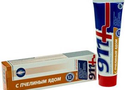 911+ Body balm-gel with apitoxin, 100ml