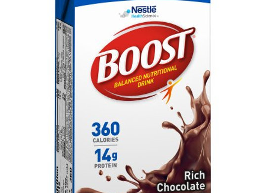 Oral Supplement Boost® Plus Rich Chocolate Flavor Ready to Use 8 oz. Carton