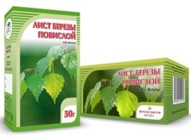 Folia Betulae (БЕРЕЗА ПОВИСЛАЯ, ЛИСТ)