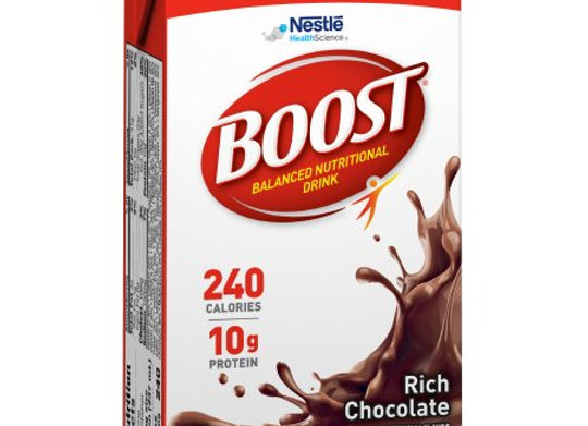 Oral Supplement Boost® Rich Chocolate Flavor Ready to Use 8 oz. Carton