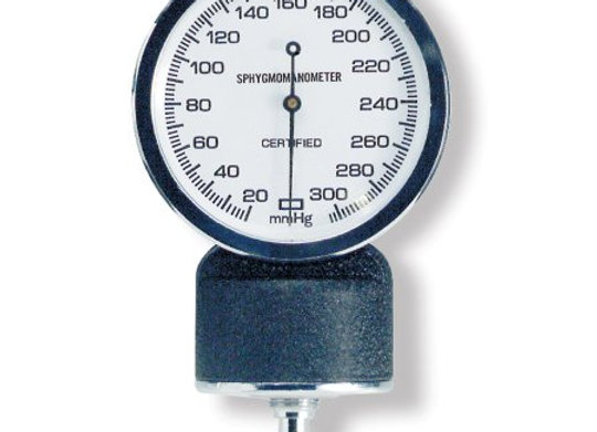 Blood Pressure Unit Gauge McKesson Black Body, White Face with Black Numbers Sta
