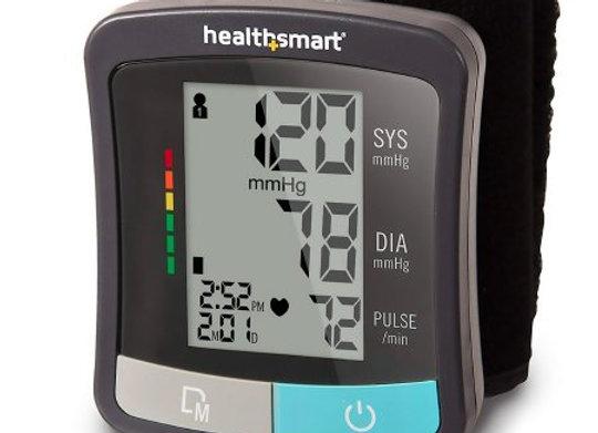 Digital Blood Pressure Wrist Unit Mabis® 1-Tube Automatic Talking Model Adult On