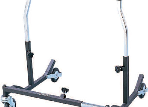 Bariatric Safety Roller Adjustable Height drive™ Steel Frame 500 lbs. Weight Cap