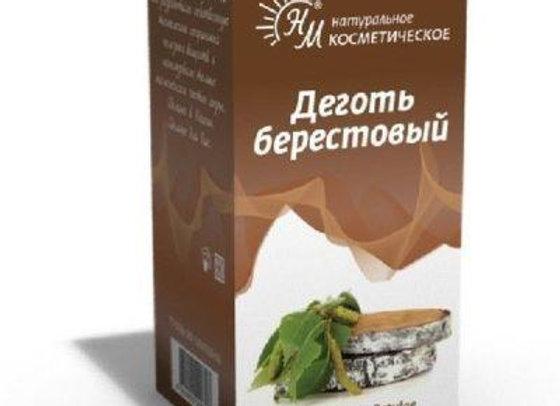 Pix liquida Betulae Oleum Rusci (Деготь берестовый)
