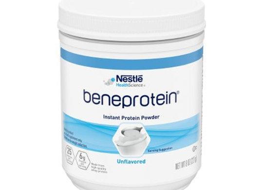 Protein Supplement Beneprotein® Unflavored 8 oz. Canister Powder