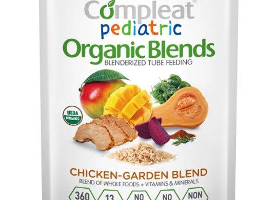 Pediatric Oral Supplement / Tube Feeding Formula Compleat® Pediatric Organic Ble