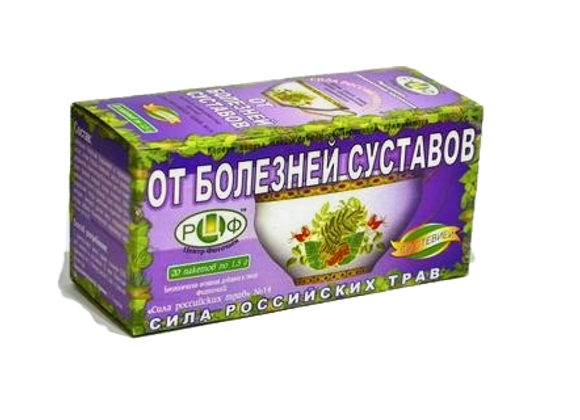 ФИТОЧАЙ №14 От болезней суставов