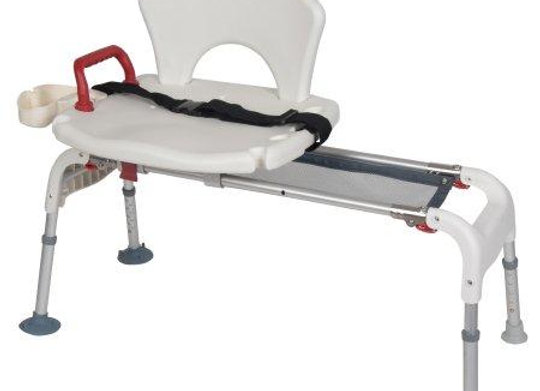 Bath Transfer Bench drive™ 21 to 25 Inch Height Range 300 lbs. Weight Capacity F