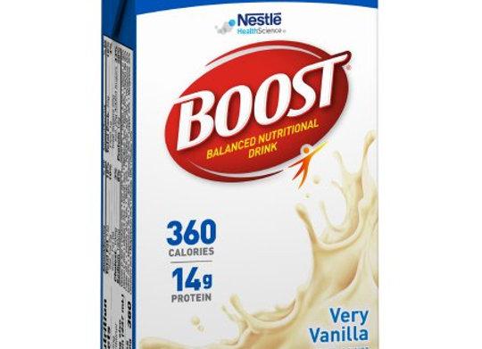 Oral Supplement Boost® Plus Very Vanilla Flavor Ready to Use 8 oz. Tetra Brik