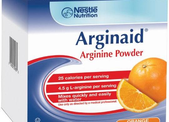 Arginine Supplement Arginaid® Orange Flavor .32 oz Individual Packet Powder