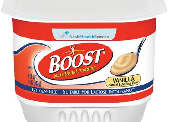 Oral Supplement Boost® Nutritional Pudding Very Vanilla Flavor Ready to Use 5 oz