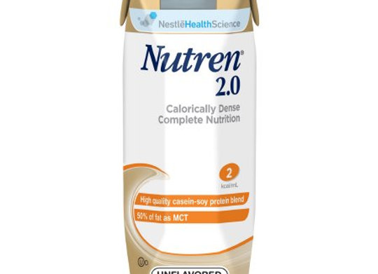 Tube Feeding Formula Nutren® 2.0 8.45 oz. Carton Ready to Use Unflavored Adult