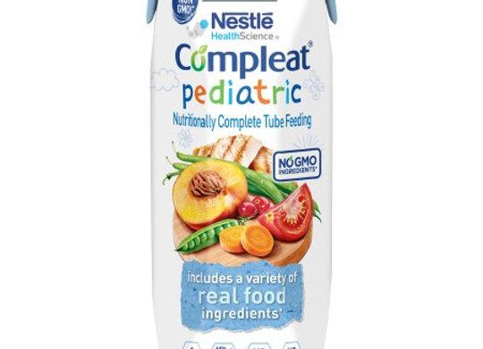 Pediatric Tube Feeding Formula Compleat® Pediatric 8.45 oz. Carton Ready to Use