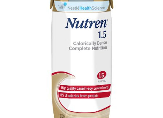 Tube Feeding Formula Nutren® 1.5 8.45 oz. Carton Ready to Use Unflavored Adult
