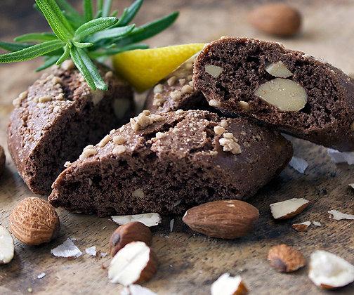 Skorpor choklad/citron/mandel