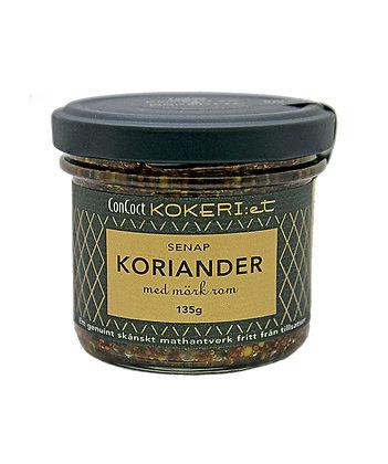 Koriander/mörk romsenap