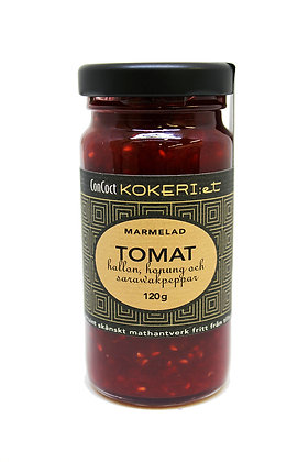 Marmelad tomat/hallon/sarawak