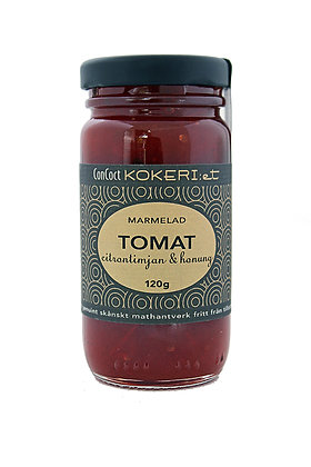 Marmelad tomat/citrontimjan/vit rom