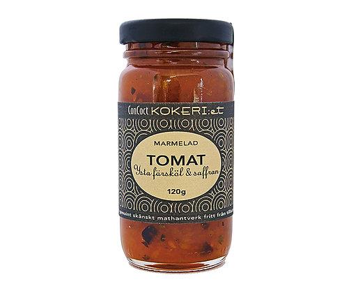 Marmelad tomat/färsköl/saffran/örter