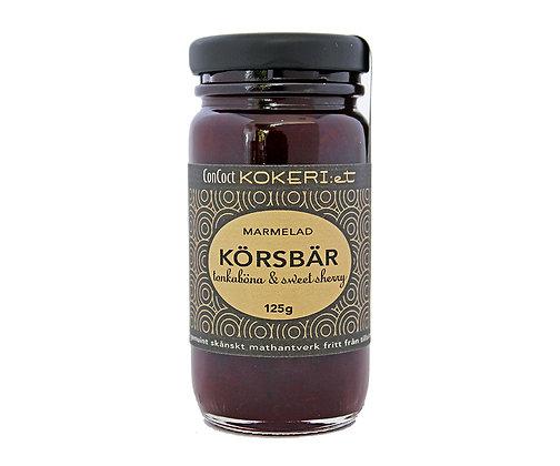 Marmelad körsbär/tonka/sweet sherry