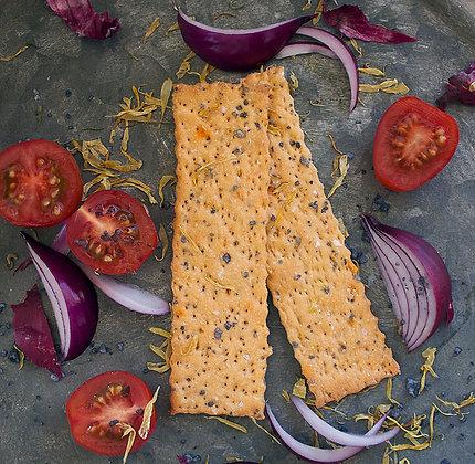 Knäx tomat/picklad rödlök/chili