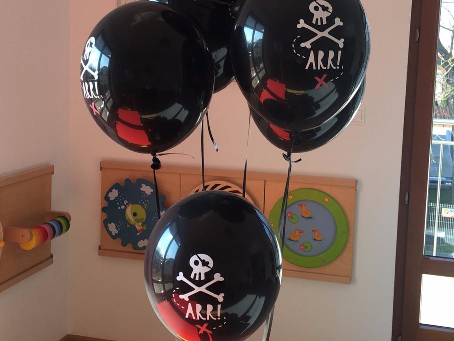 Pirackie urodziny w przedszkolu:-)