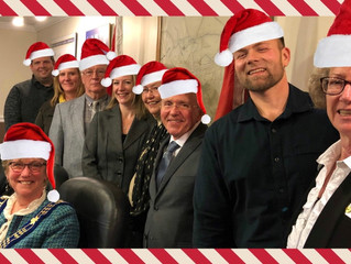 Merry Christmas & Happy New Year from Mayor Jones, Council and Town Hall Staff