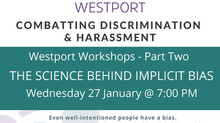 Combatting Discrimination & Harassment Workshop January 27/21 on YouTube