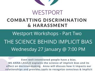 Combatting Discrimination & Harassment Workshop January 27/21 on YouTube