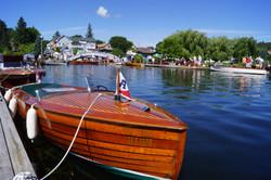 old cedar boat