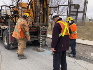 READY FOR SOME GOOD NEWS? SPRING IS HERE AND 2 PUBLIC WORKS PROJECTS UNDERWAY!