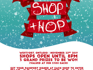 Christmas Market & Holiday Shop & Hop