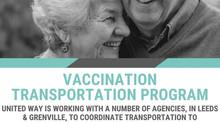 Vaccination Transportation Program  Available