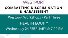 Health Equity Workshop - February 24 @7:00 p.m.