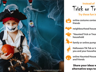 Halloween in the Village and Alternate Trick or Treating Ideas