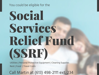 Are You Eligible for the Social Services Relief Fund?