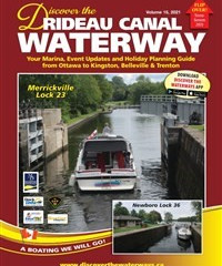 Discover Magazine's Rideau Canal features Westport