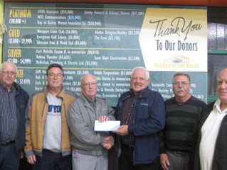 FOTA Receives Generous Donation from Bay of Quinte Mutual Insurance Co.